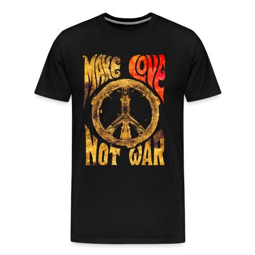 Make Love Not War - Männer Premium T-Shirt