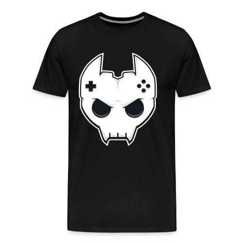 BTC Skull V3 - Men's Premium T-Shirt
