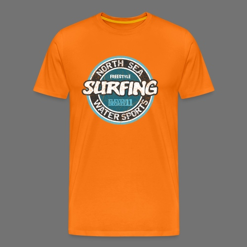 North Sea Surfing (oldstyle) - Men's Premium T-Shirt