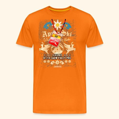 Apres Ski VIP T Shirt - Männer Premium T-Shirt