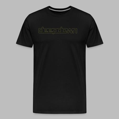 deepdownoutlinessvggg - Männer Premium T-Shirt