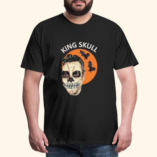 Totenkopf Nahtoderfahrung Mystik - Männer Premium T-Shirt