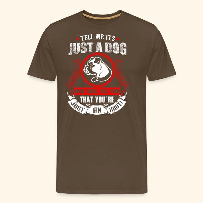 Liebe meinen Hund T-Shirt Englisch