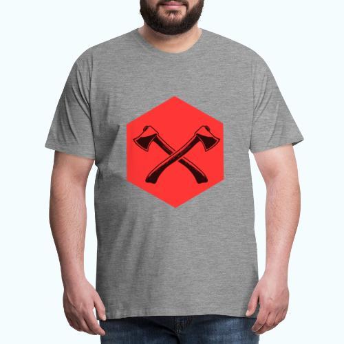 Hipster ax - Men's Premium T-Shirt