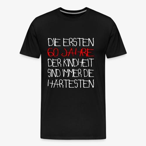 60 Jahre 60.Geburtstag - Männer Premium T-Shirt
