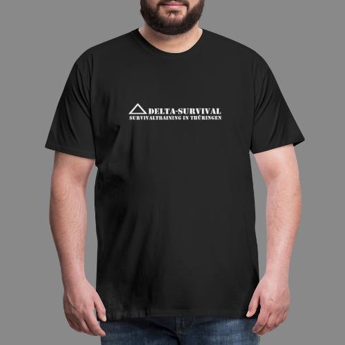 logo2015 weiß - Männer Premium T-Shirt