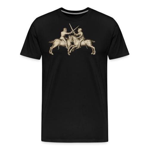 taffelhofef png - Premium-T-shirt herr
