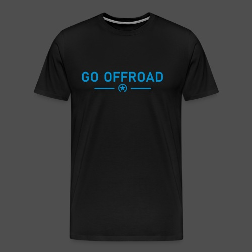 go offroad - Männer Premium T-Shirt