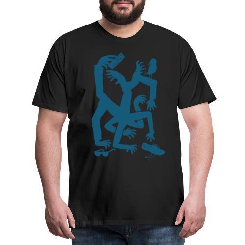 OP Hands (Black Edition) - Men's Premium T-Shirt