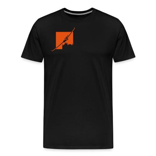 Logo Fliegerclub Schwerin Pinnow (klein) - Männer Premium T-Shirt