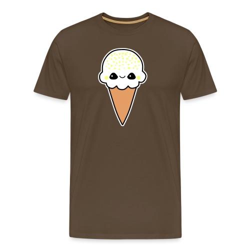 Happy Zitronen Eis - Männer Premium T-Shirt