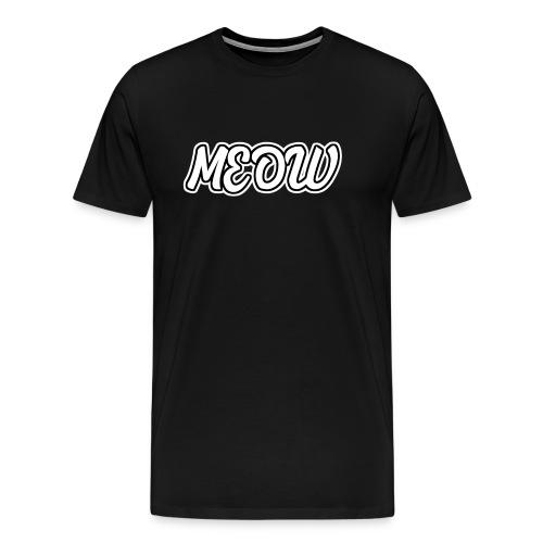 Meow Miau - Männer Premium T-Shirt