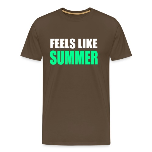 Feels like summer - Männer Premium T-Shirt