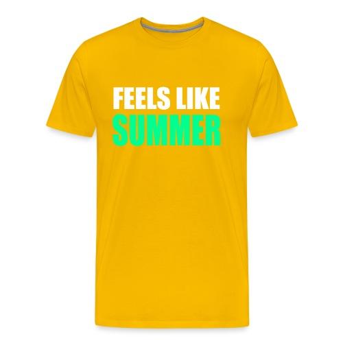 Feels like summer - Männer Premium T-Shirt