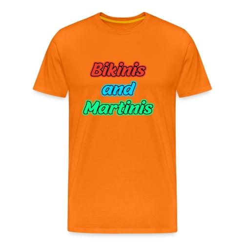 Bikinis & Martinis - Männer Premium T-Shirt