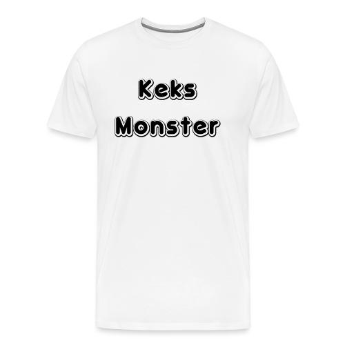 Keks Monster - Männer Premium T-Shirt
