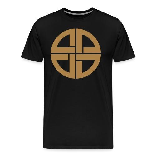 Thor Schildknoten, Schutzsymbol, Keltischer Knoten - Männer Premium T-Shirt