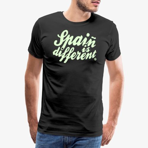 Spain is different con ñ - Camiseta premium hombre