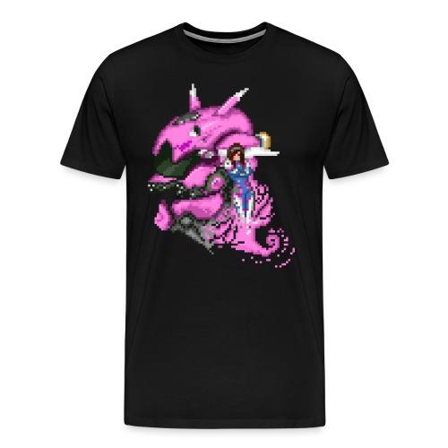 D Va Overwatch 8Bit - Männer Premium T-Shirt