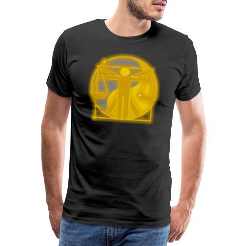 Vitruvius Concern Architect - Mannen Premium T-shirt