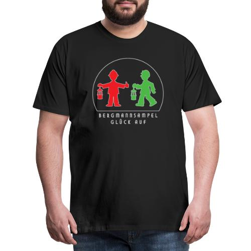 Die Bergmannsampel leuchtet - Männer Premium T-Shirt
