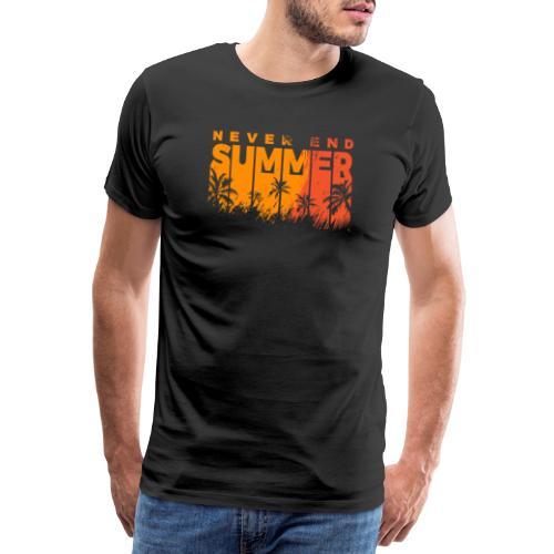 Never End Summer - Camiseta premium hombre