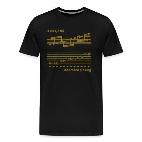 alternate picking - Men's Premium T-Shirt