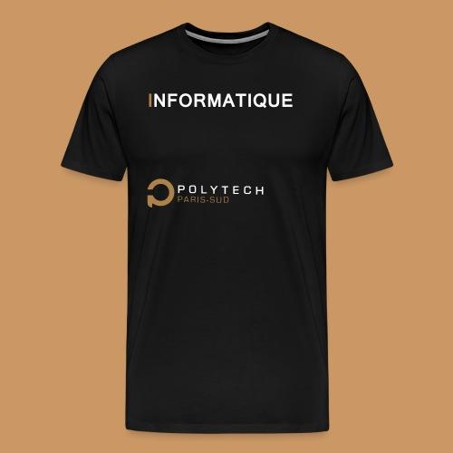 Motif Polytech jog info - T-shirt Premium Homme