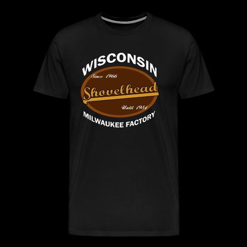 Milwaukee Shovelhead - Männer Premium T-Shirt