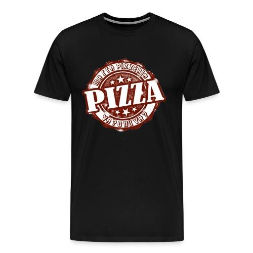 PIZZERIA png - Maglietta Premium da uomo