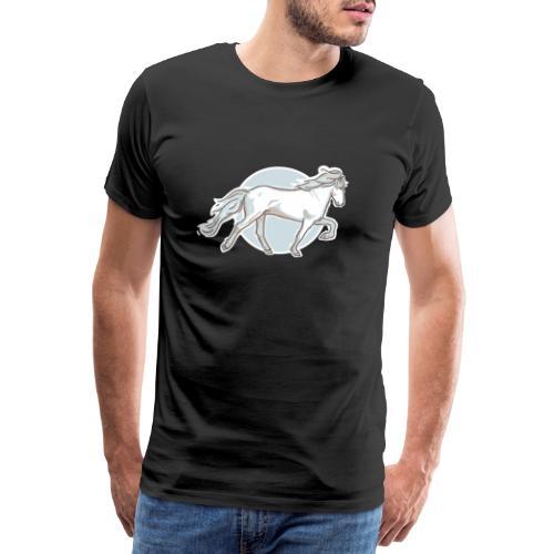 Islandpferd-3 - Männer Premium T-Shirt