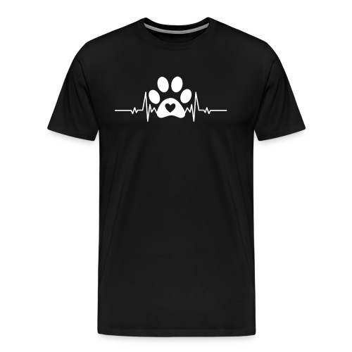 Fingerprint the dog - Camiseta premium hombre