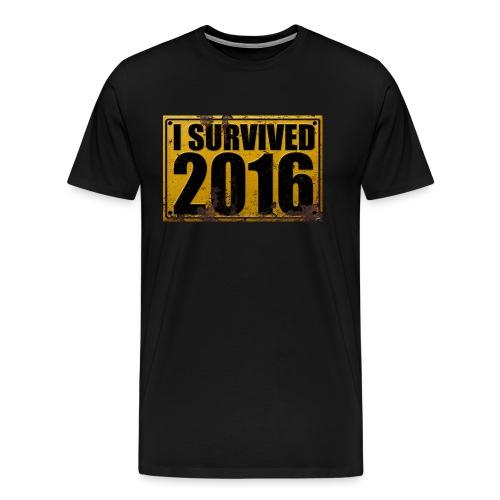 I SURVIVED 2016 - Männer Premium T-Shirt