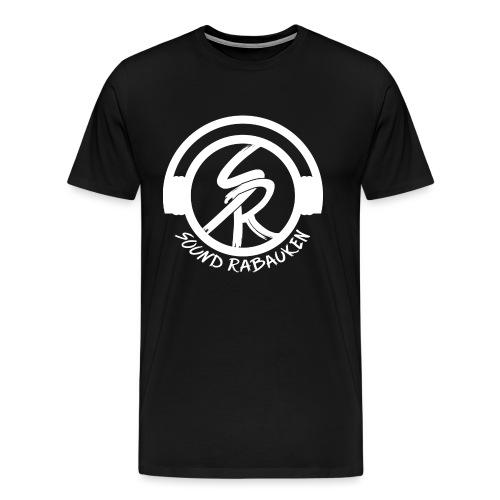 Sound Rabauken Logo Weiss - Männer Premium T-Shirt