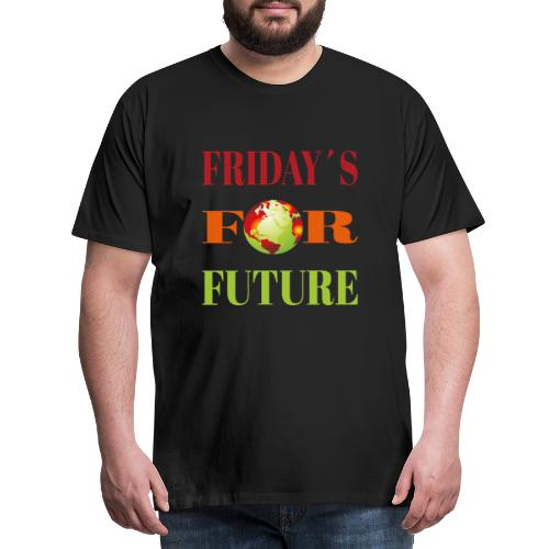 Friday´s for future Klimaschutz Klimawandel Öko - Männer Premium T-Shirt