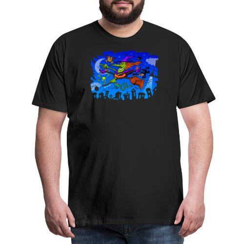 Crazy Witch - Men's Premium T-Shirt