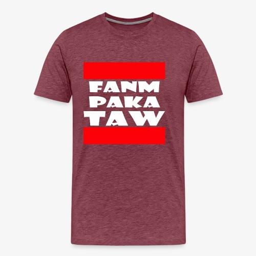 fanm paka taw - T-shirt Premium Homme