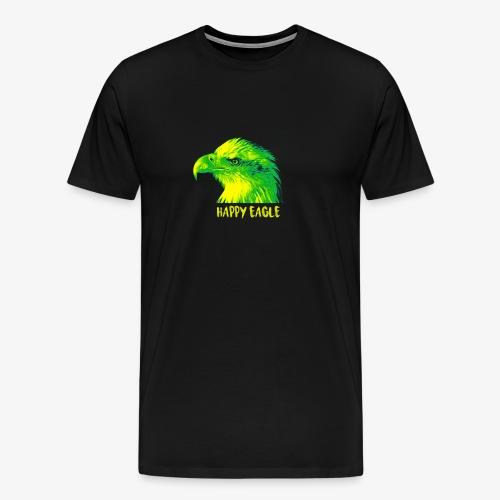 happy eagle - T-shirt Premium Homme
