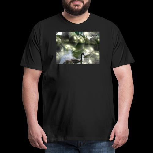 Blasen und Schwäne - Männer Premium T-Shirt