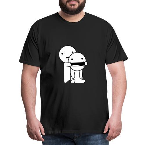 Lachen! - Mannen Premium T-shirt