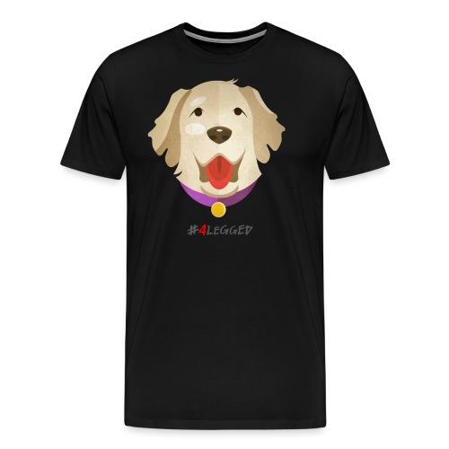 Golden Retriever - Maglietta Premium da uomo