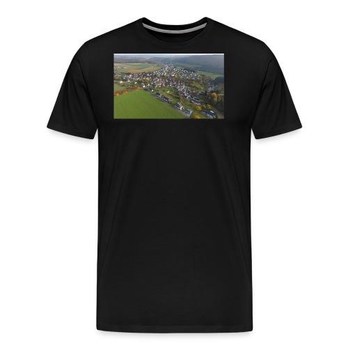 Luftbild Edelsberg - Männer Premium T-Shirt