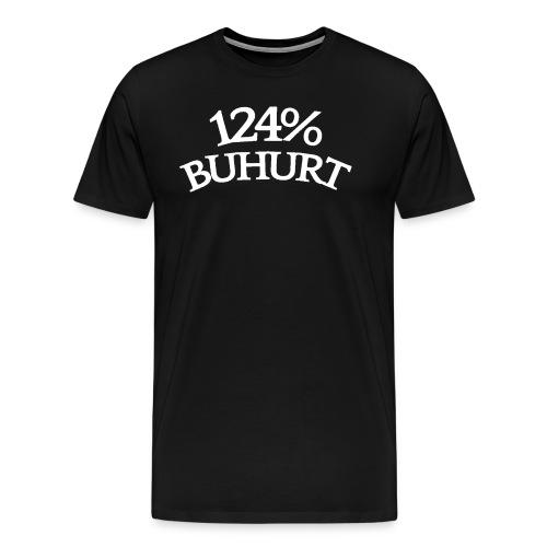 124 - Miesten premium t-paita
