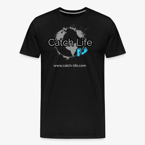 Catch Life Black - Men's Premium T-Shirt