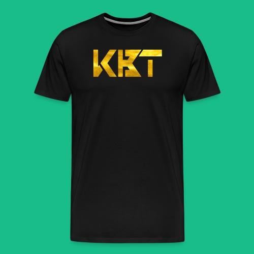 gold logo png - Men's Premium T-Shirt