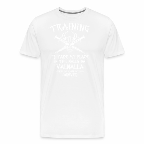 training for Valhalla - Camiseta premium hombre