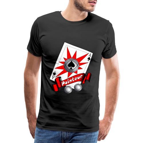 t shirt petanque as des pointeurs boules - T-shirt Premium Homme