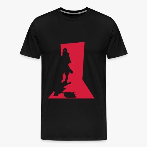 Monster in the Doorway - Herre premium T-shirt