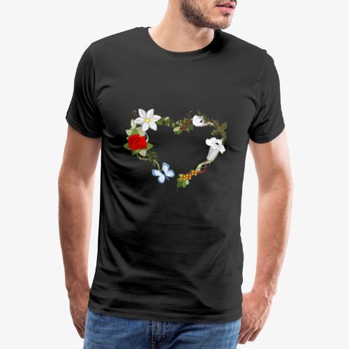 Wedding pattern - T-shirt Premium Homme