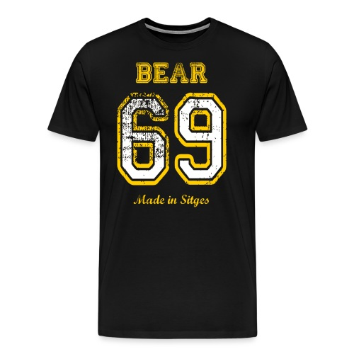 69 bear - Camiseta premium hombre